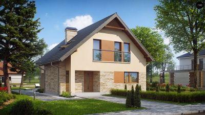Строительство каркасного загородного дома в Ольшаниках