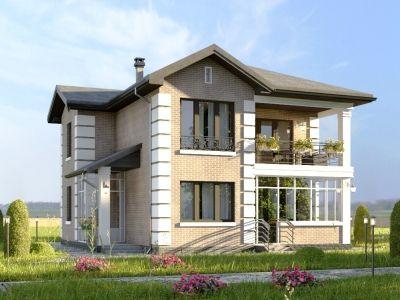Строительство загородного особняка в Борисово