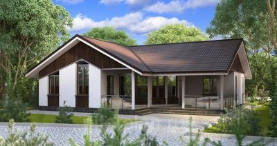 Строительство двухэтажного дома из газобетона в пос. Ропша