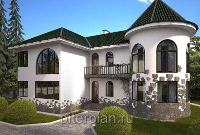 Каннельярви. Двухэтажный дом из бруса 201 м2