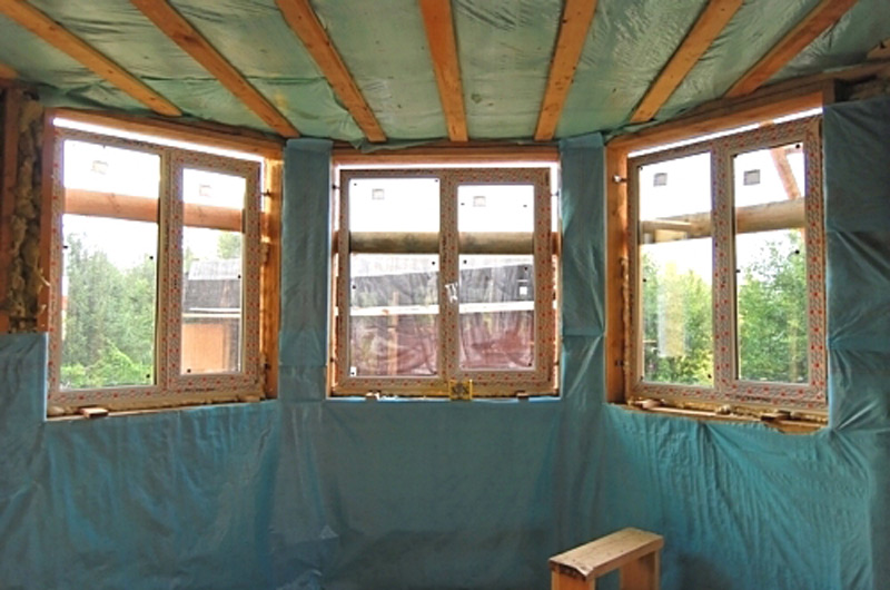 Как утеплить изнутри деревянный дом