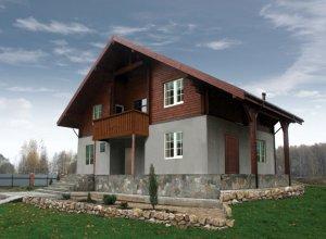 Комбинированный дом Шале-2.